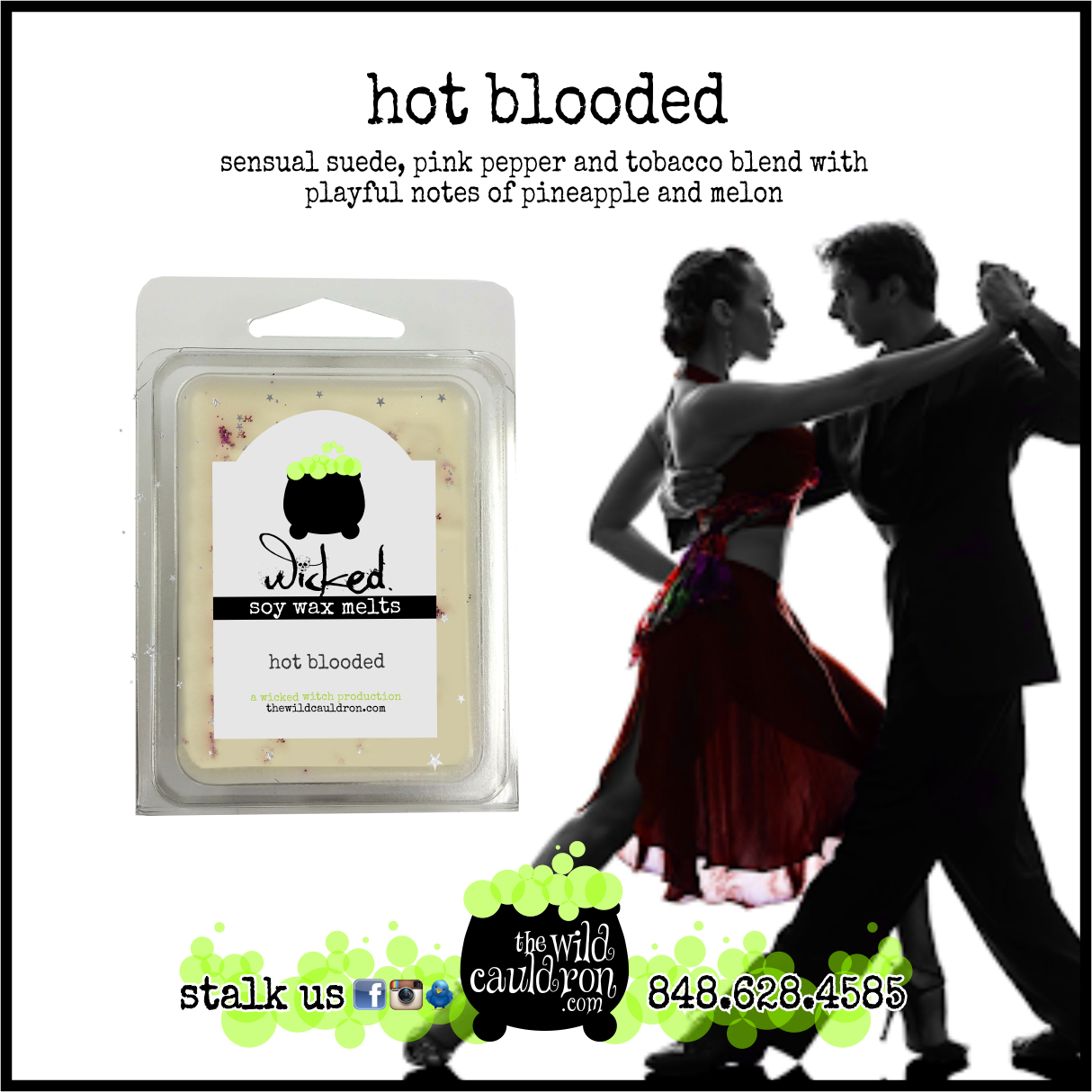 Hot Blooded Wicked Wax Melts
