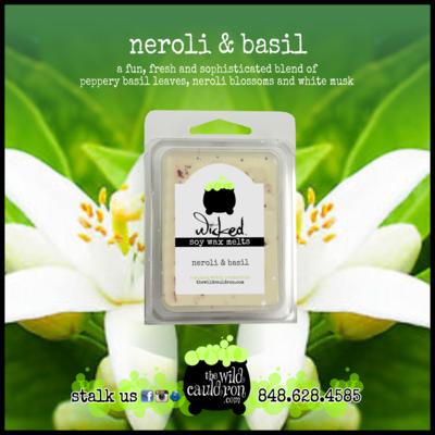 Neroli and Basil Wicked Wax Melts