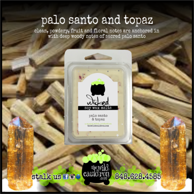 Palo Santo and Topaz Wicked Wax Melts