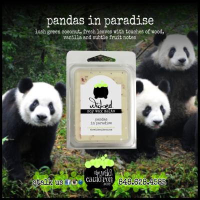 Pandas in Paradise Wicked Wax Melts