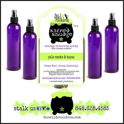 Palo Santo and Topaz Sacred Smudge Spray