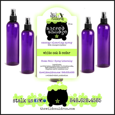 White Oak and Cedar Sacred Smudge Spray