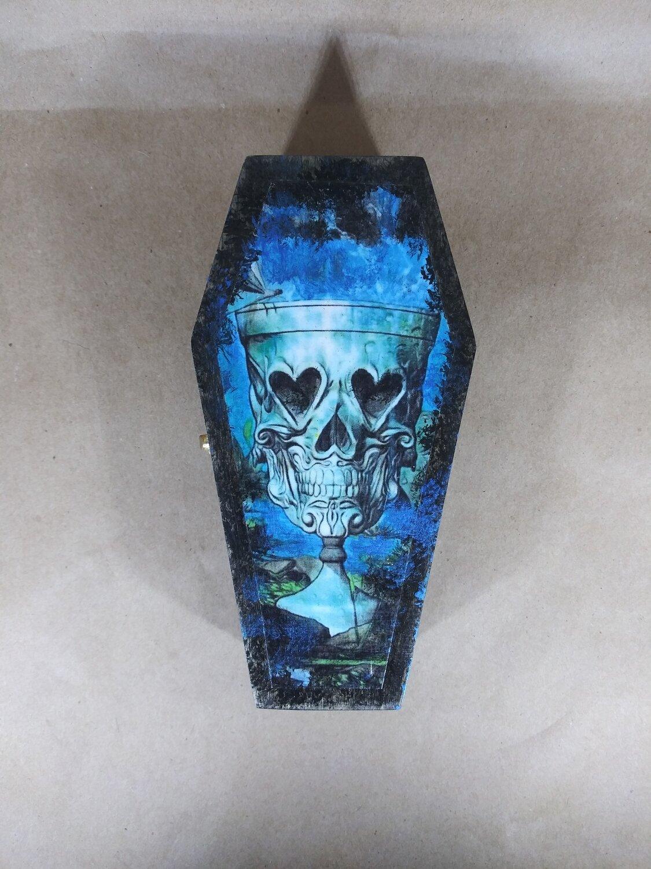 Skull Goblet Coffin