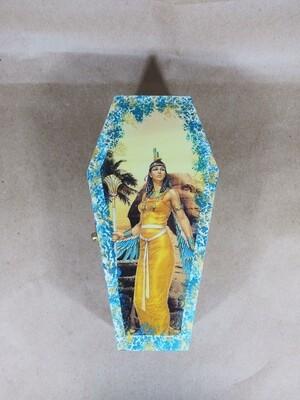 Egyptian Goddess Coffin