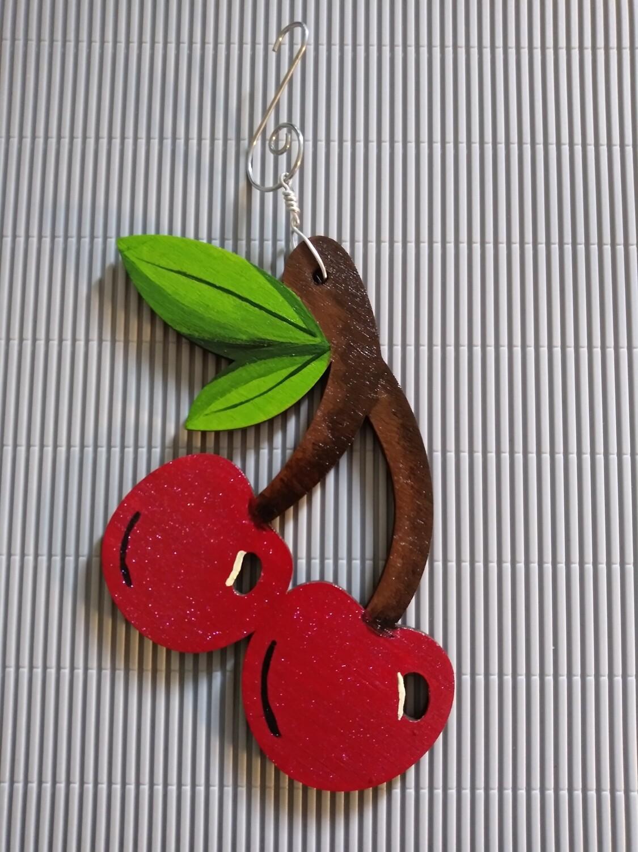 Cherry Pie Keepsake Ornament