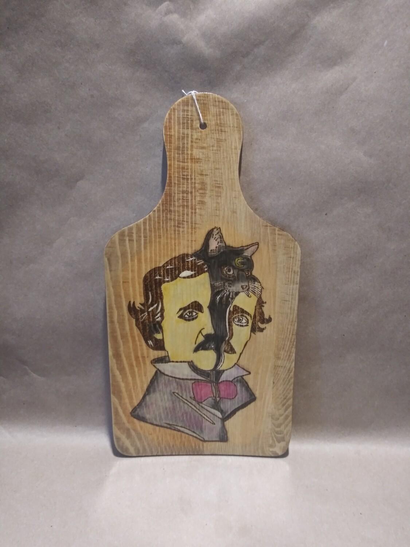 Edgar Allen Poe Cheeseboard