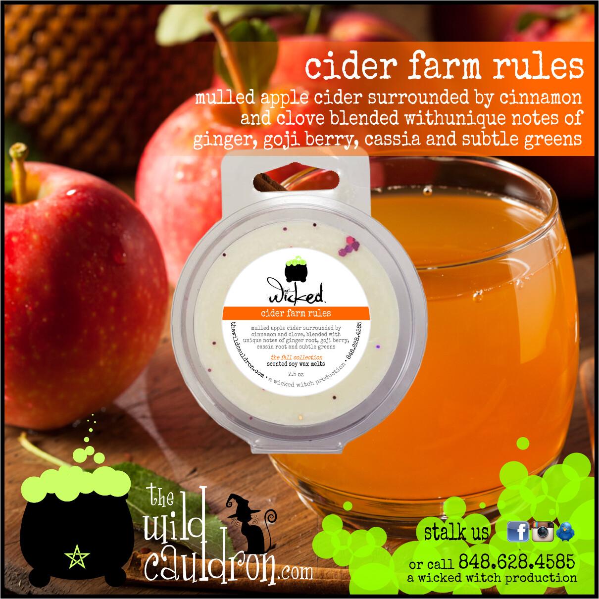 Cider Farm Rules