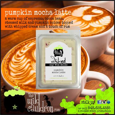 Pumpkin Mocha Latte