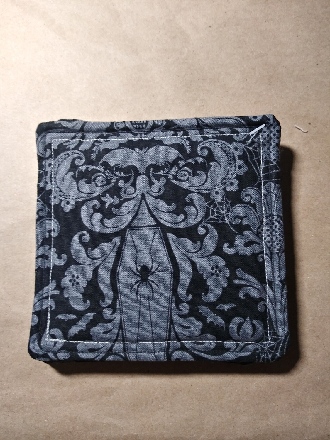 Gothic Grey and Black Coasters