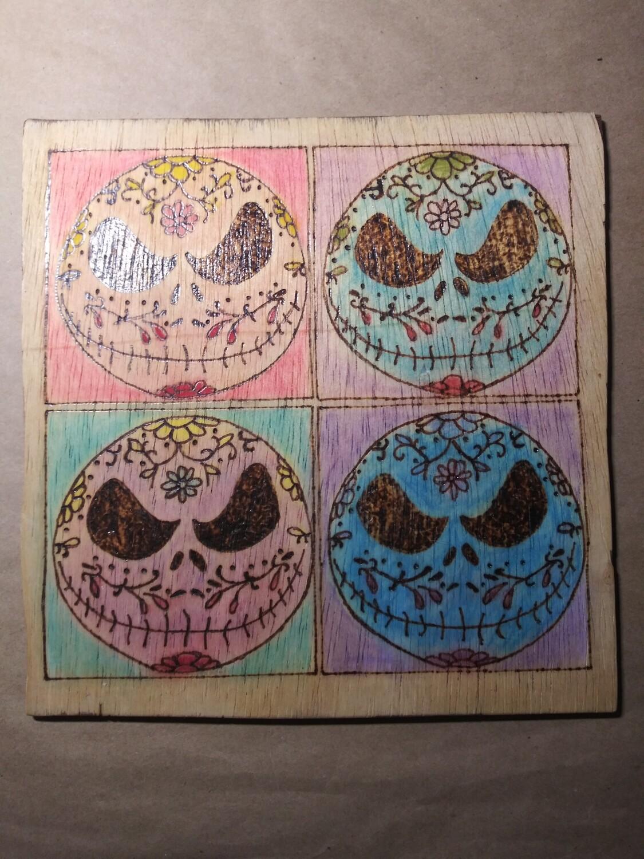 Jack Sugar Skull (Warhol-style)