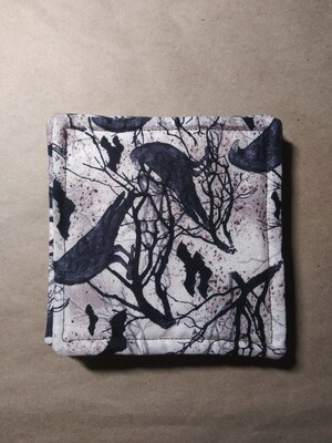 Bats and Crow Coasters