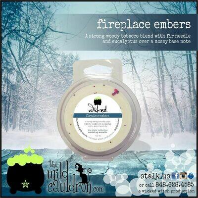 Fireplace Embers Wicked Wax Melt