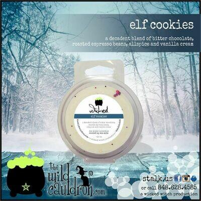 Elf Cookies Wicked Wax Melt