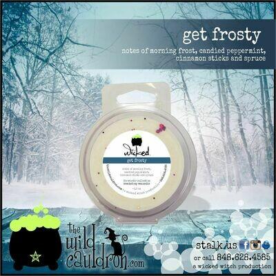 Get Frosty Wicked Wax Melt