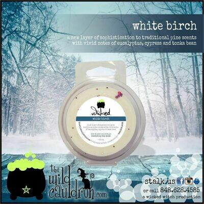 White Birch Wicked Wax Melt