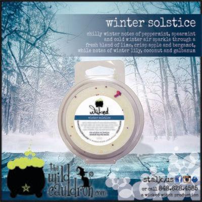 Winter Solstice Wicked Wax Melt