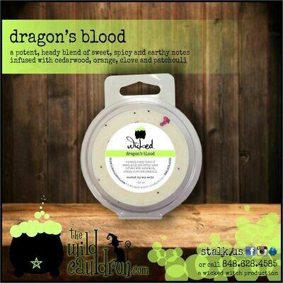 Dragon's Blood Wicked Wax Melts