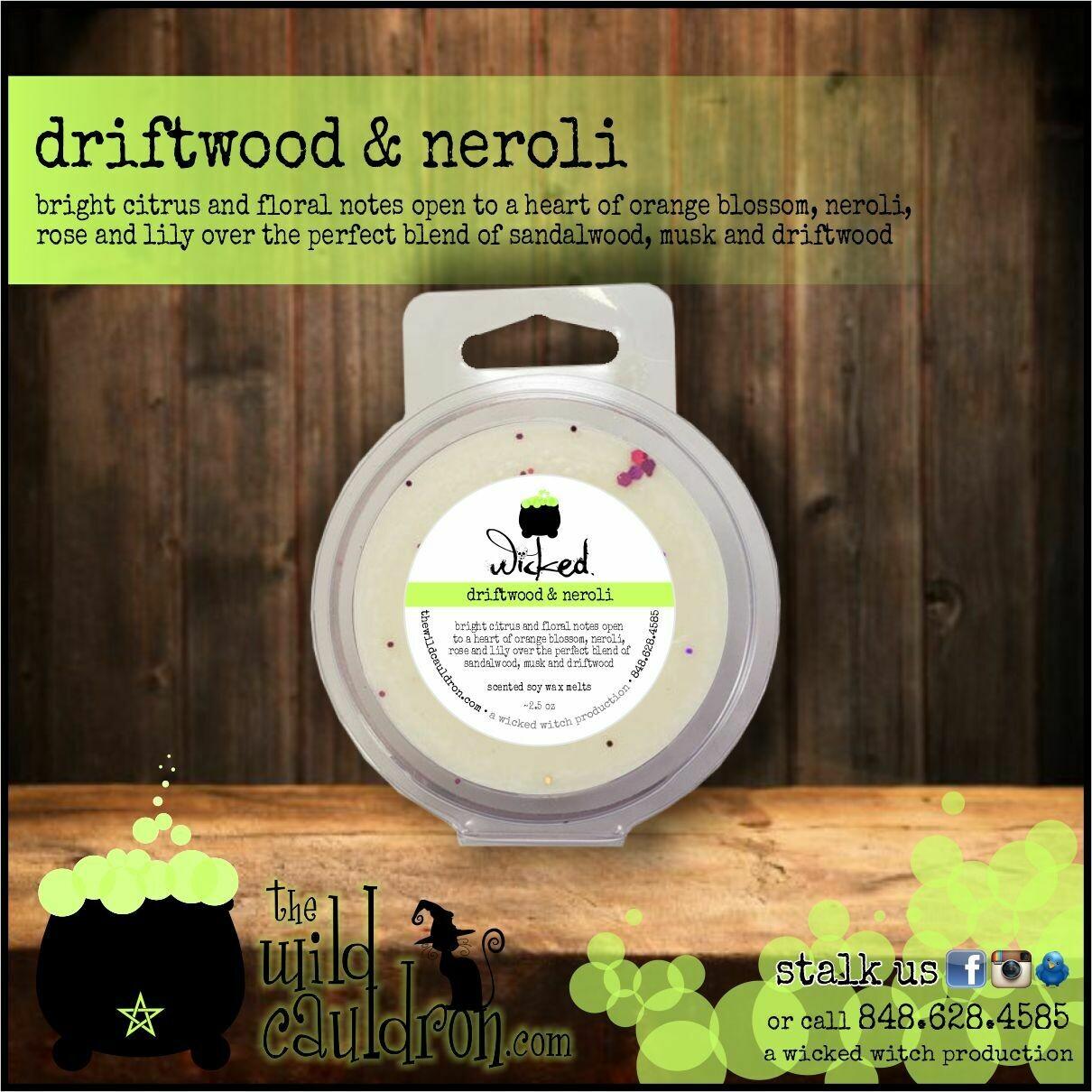 Driftwood and Neroli Wicked Wax Melts