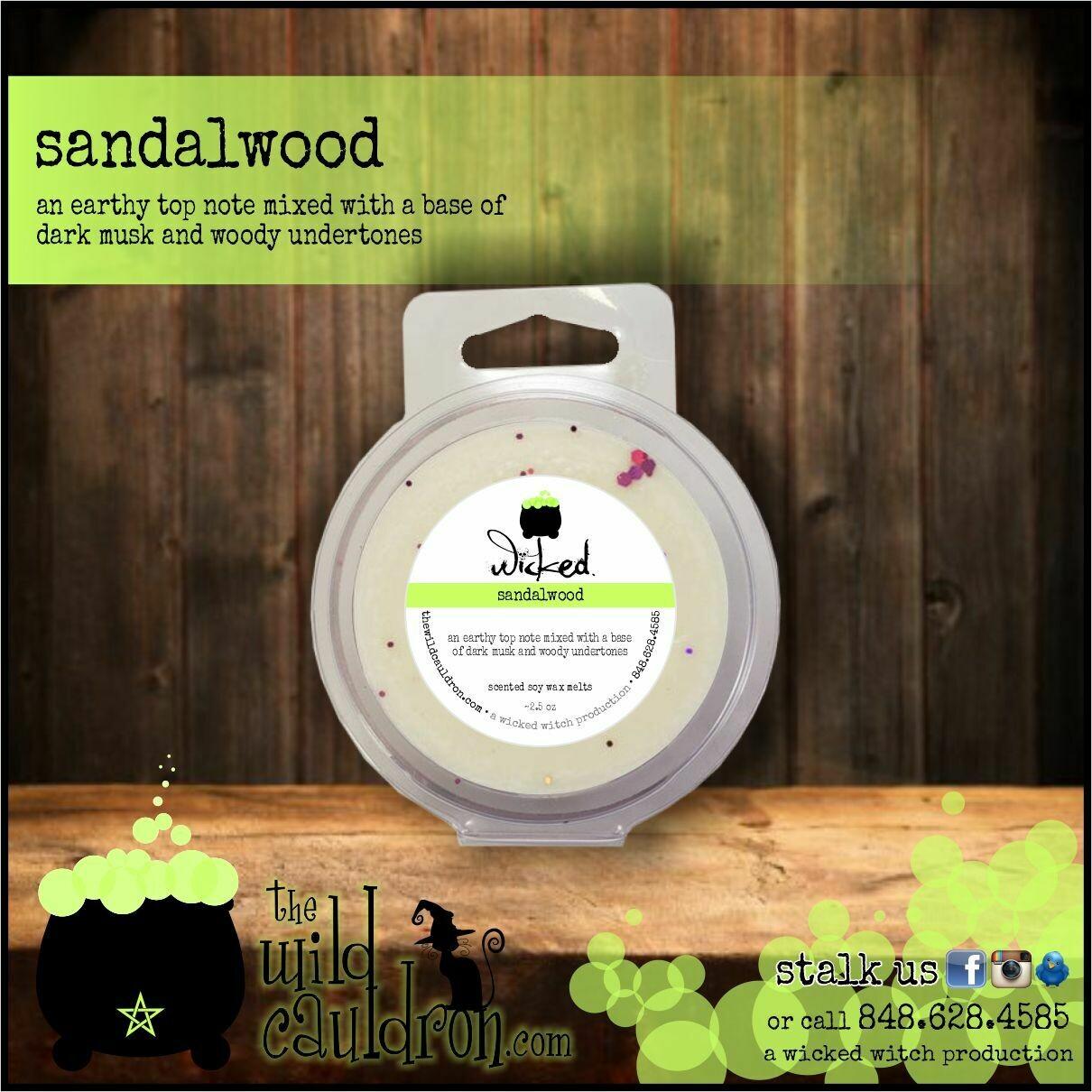 Sandalwood Wicked Wax Melts