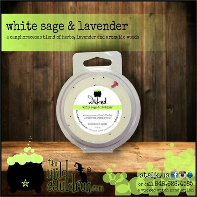 White Sage and Lavender Wicked Wax Melts