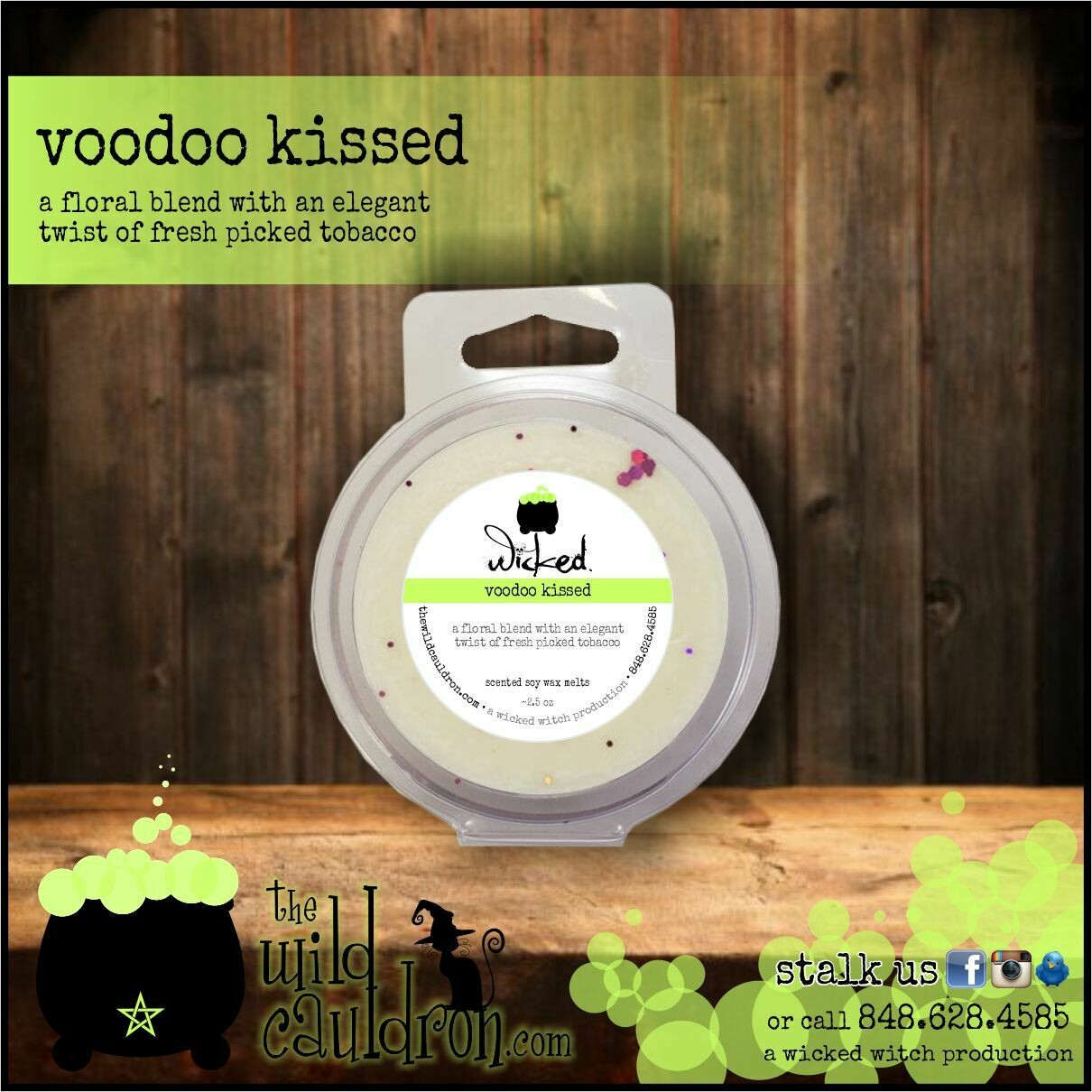Voodoo Kissed Wicked Wax Melts