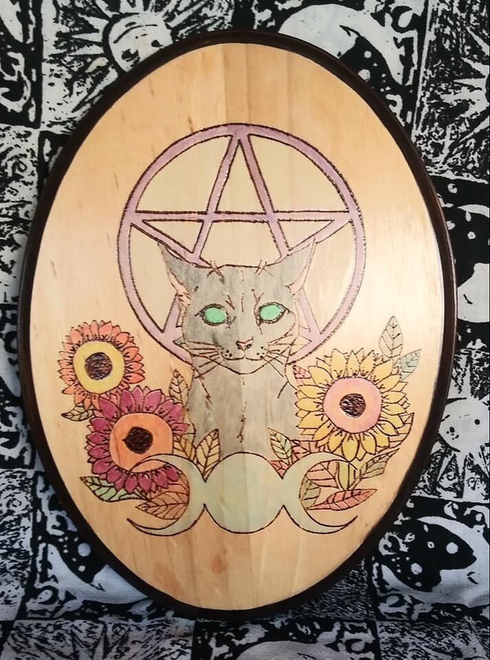 Pagan Grey Cat