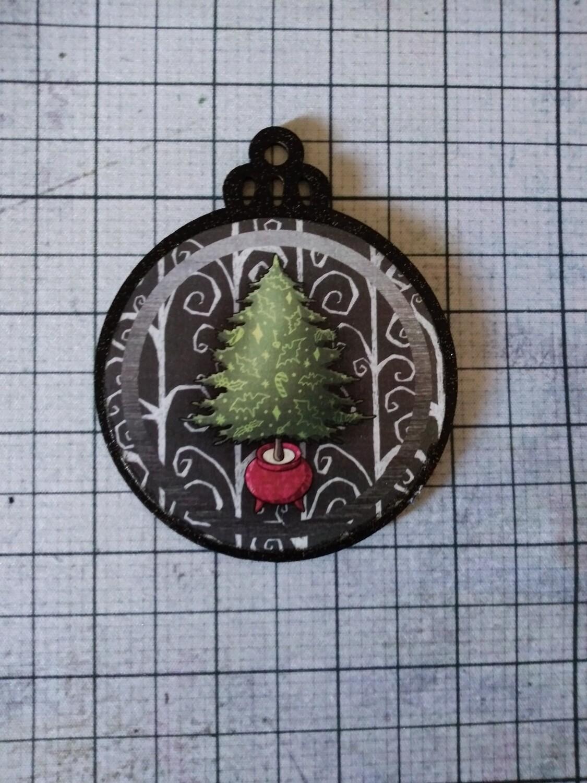 Creepy Tree Ornament