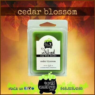 Cedar Blossom Wicked Wax Melts
