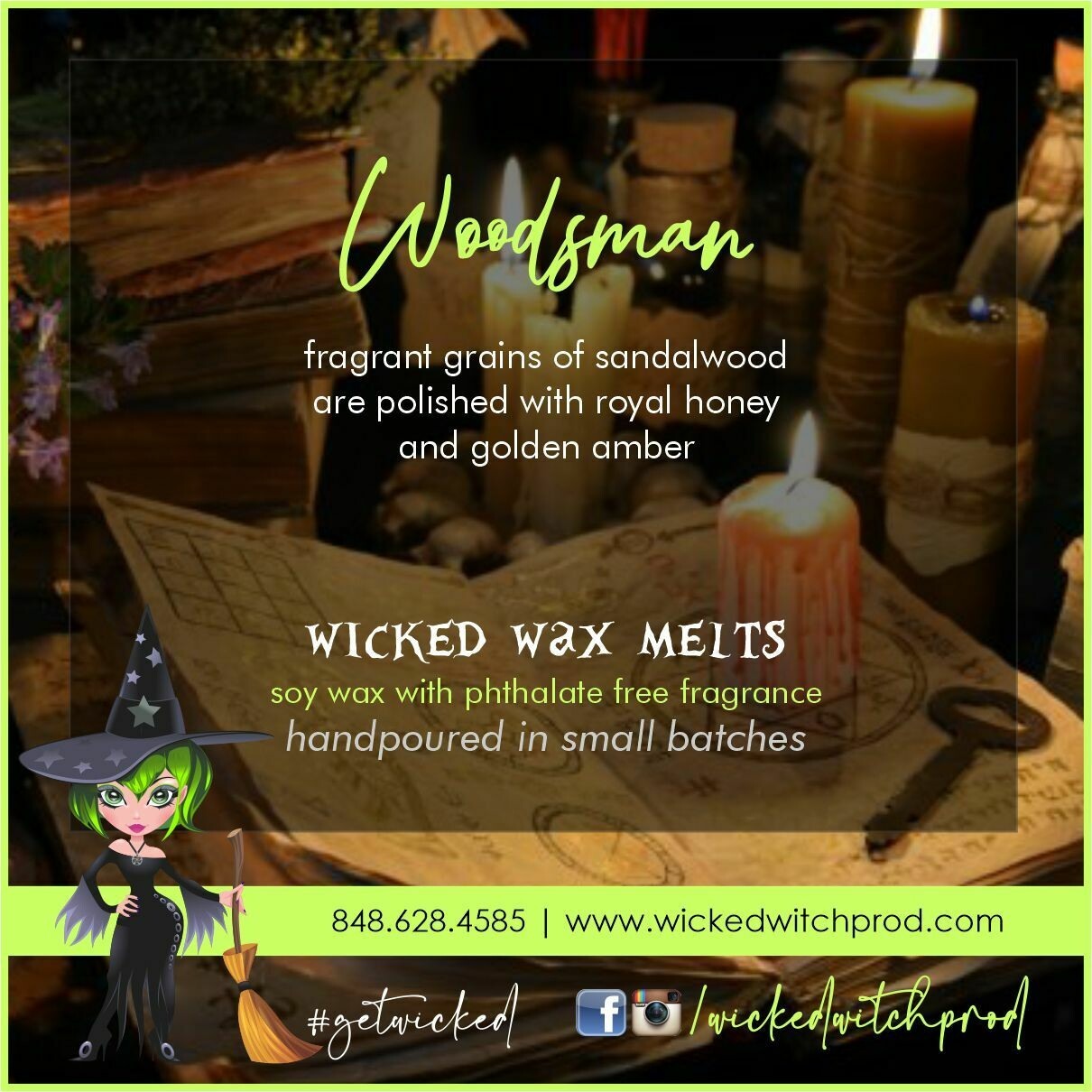 Woodsman Wicked Wax Melts