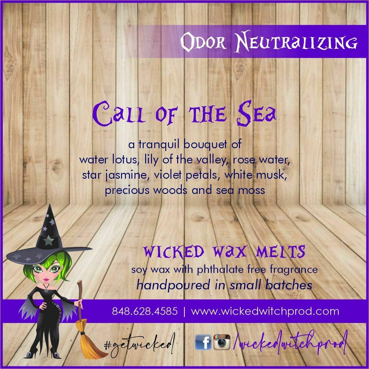 Call of the Sea Odor Neutralizing Wax Melt