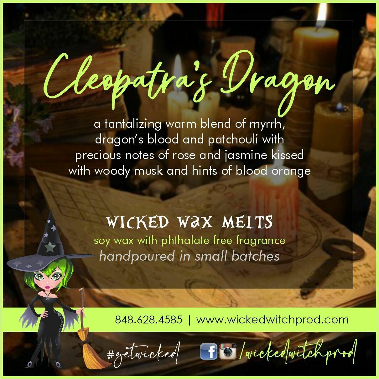 Cleopatra's Dragon Wicked Wax Melts