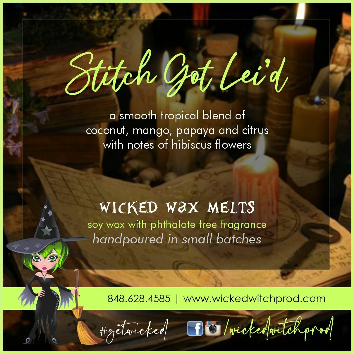 Stitch Got Lei'd Wicked Wax Melts
