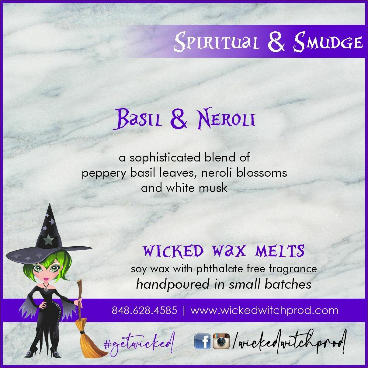 Basil & Neroli Wicked Wax Melts