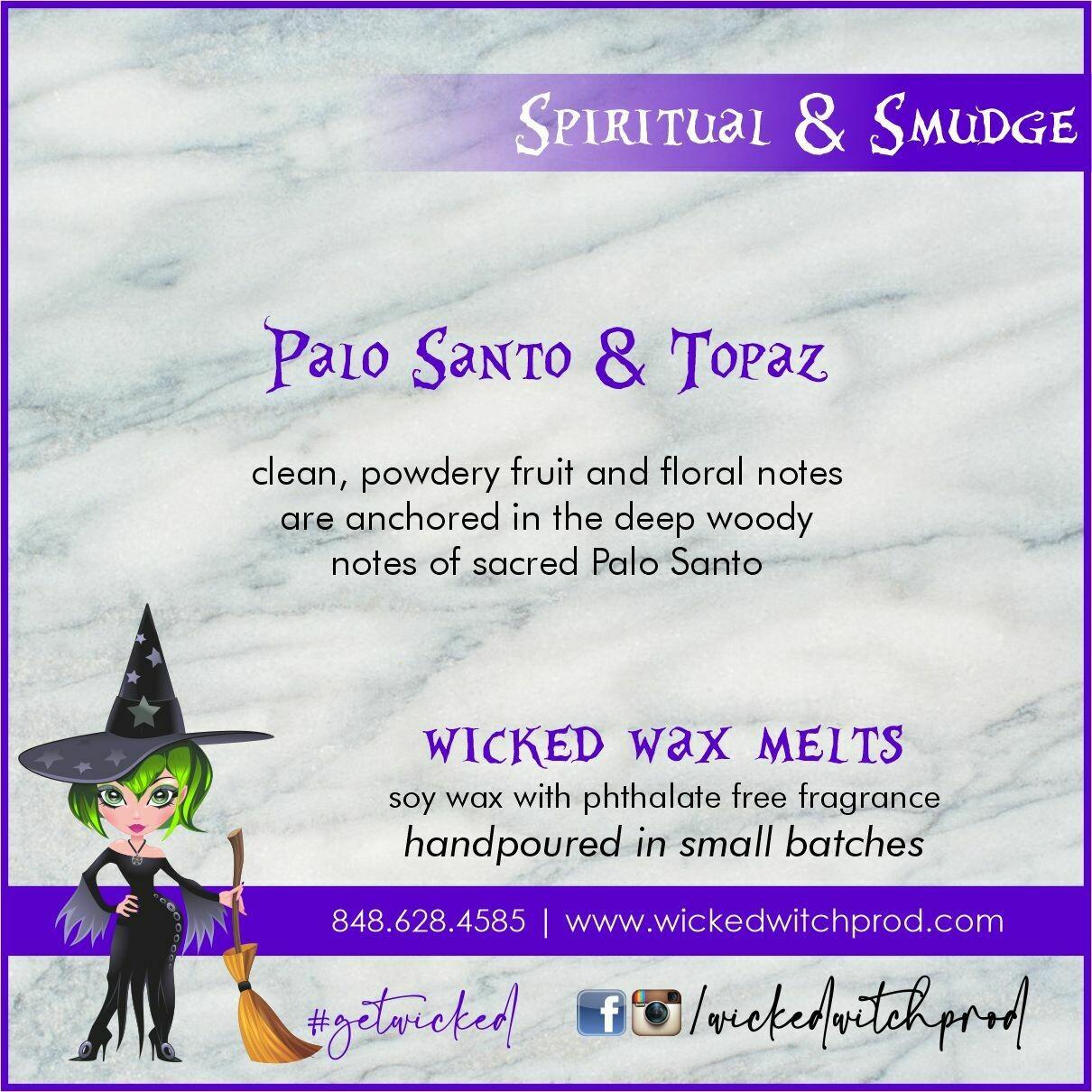 Palo Santo & Topaz Wicked Wax Melts