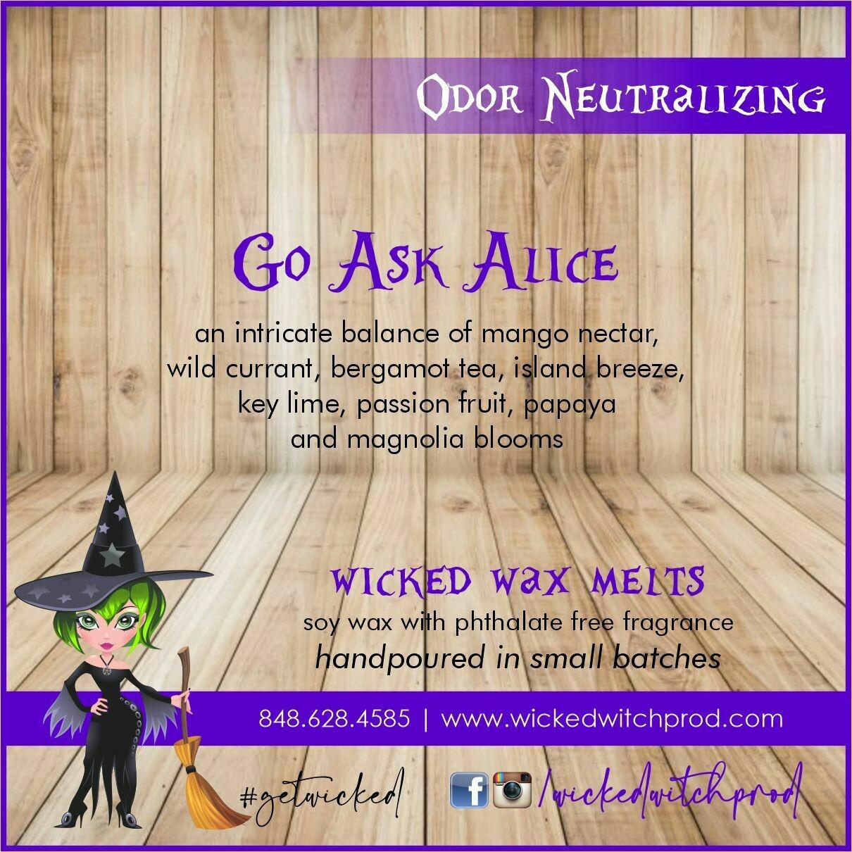 Go Ask Alice Odor Neutralizing Wax Melt