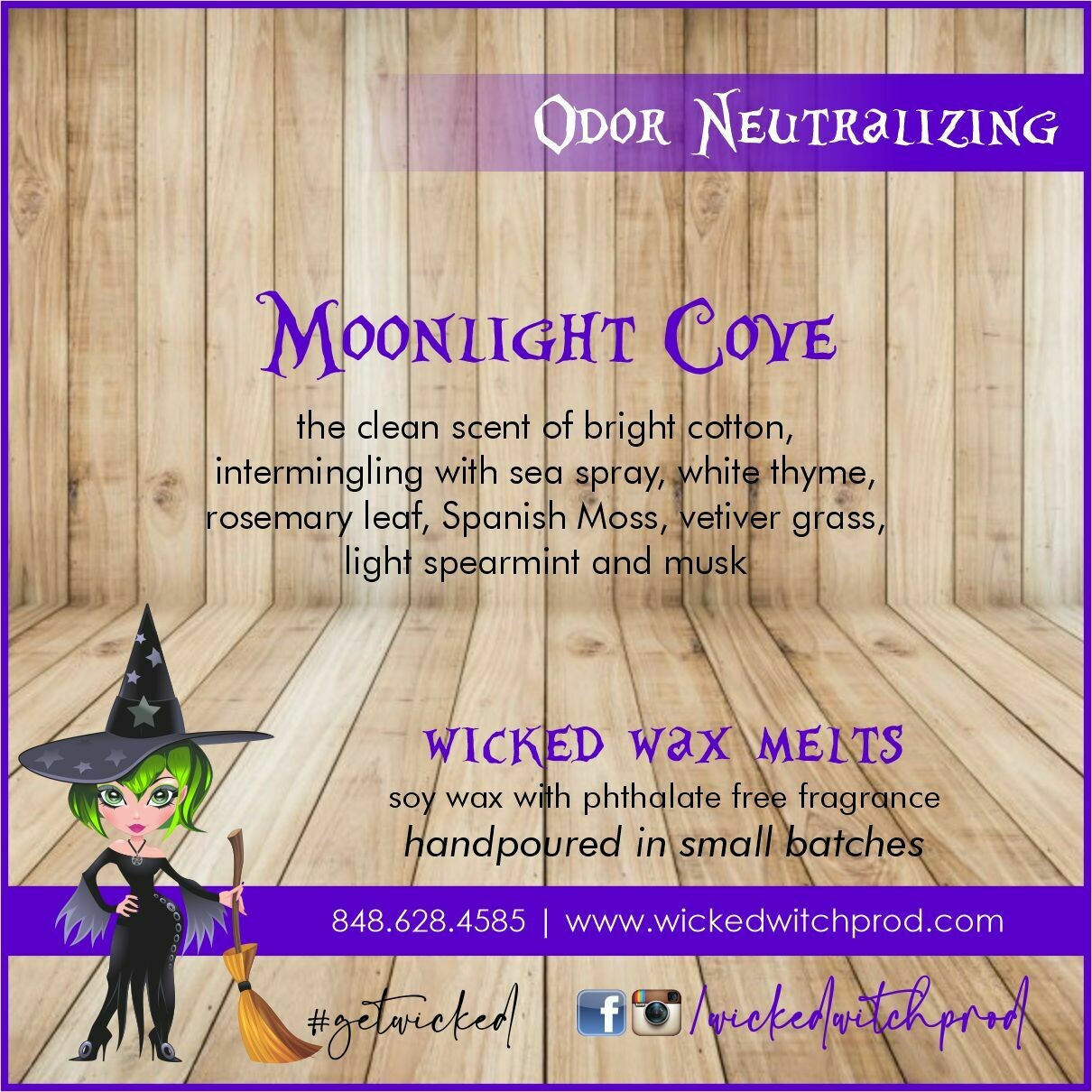 Moonlight Cove Odor Neutralizing Wax Melt
