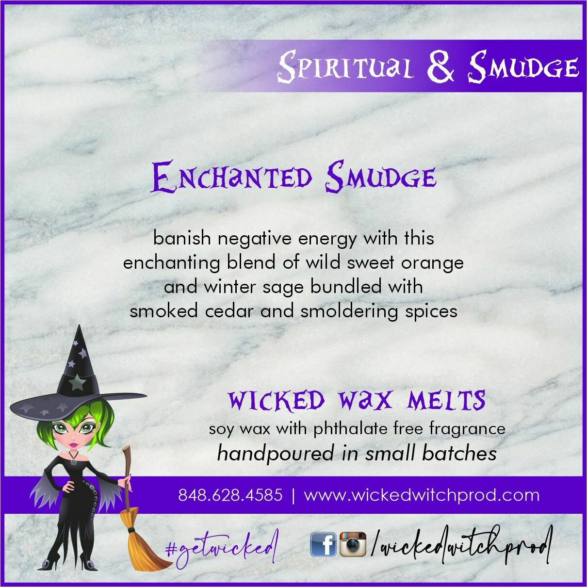 Enchanted Smudge Wicked Wax Melts