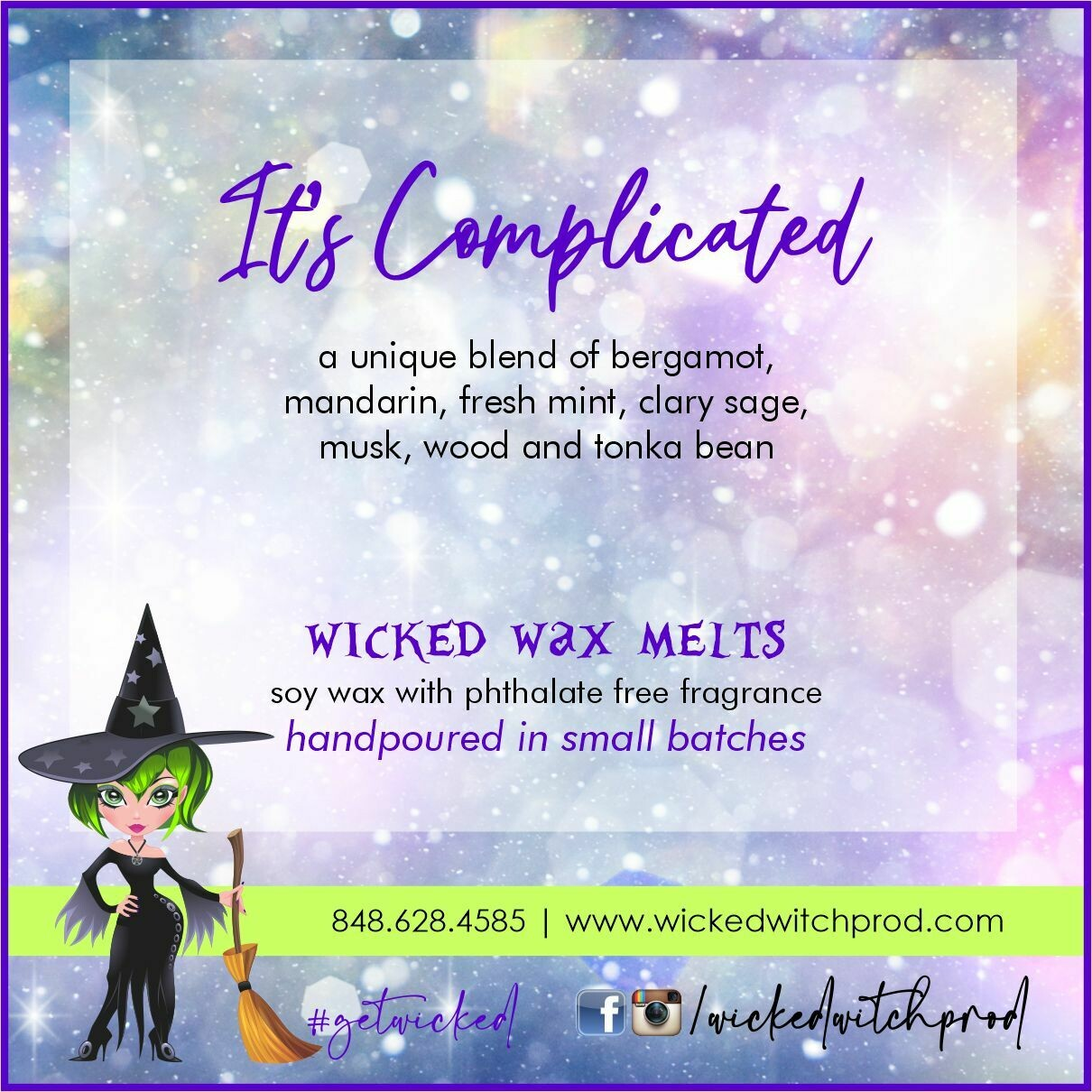 It's Complicated Wicked Wax Melts