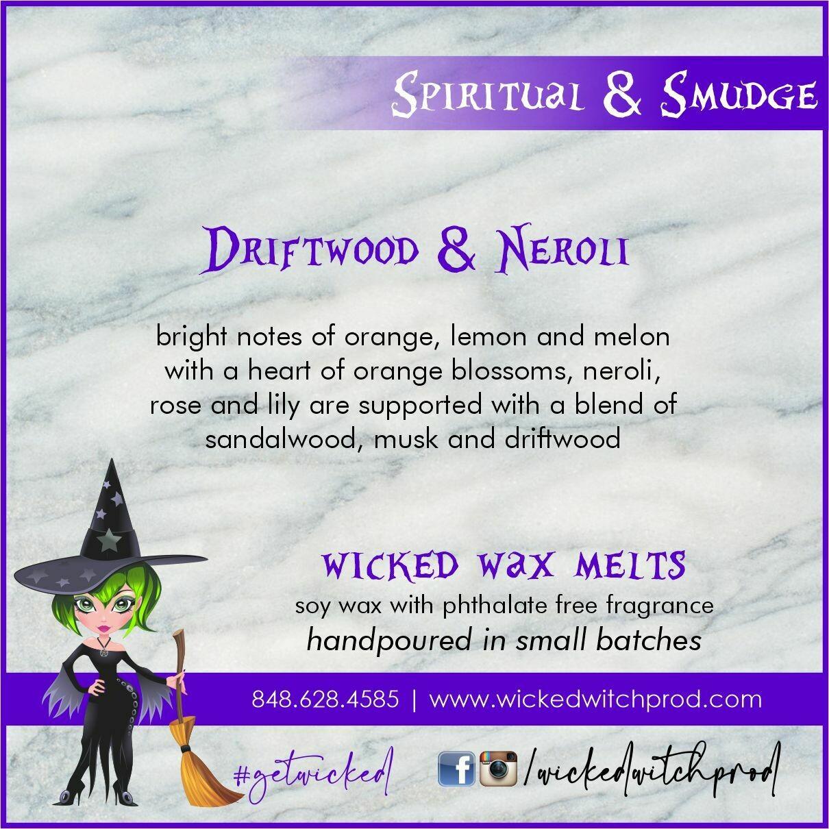 Driftwood & Neroli Wicked Wax Melts
