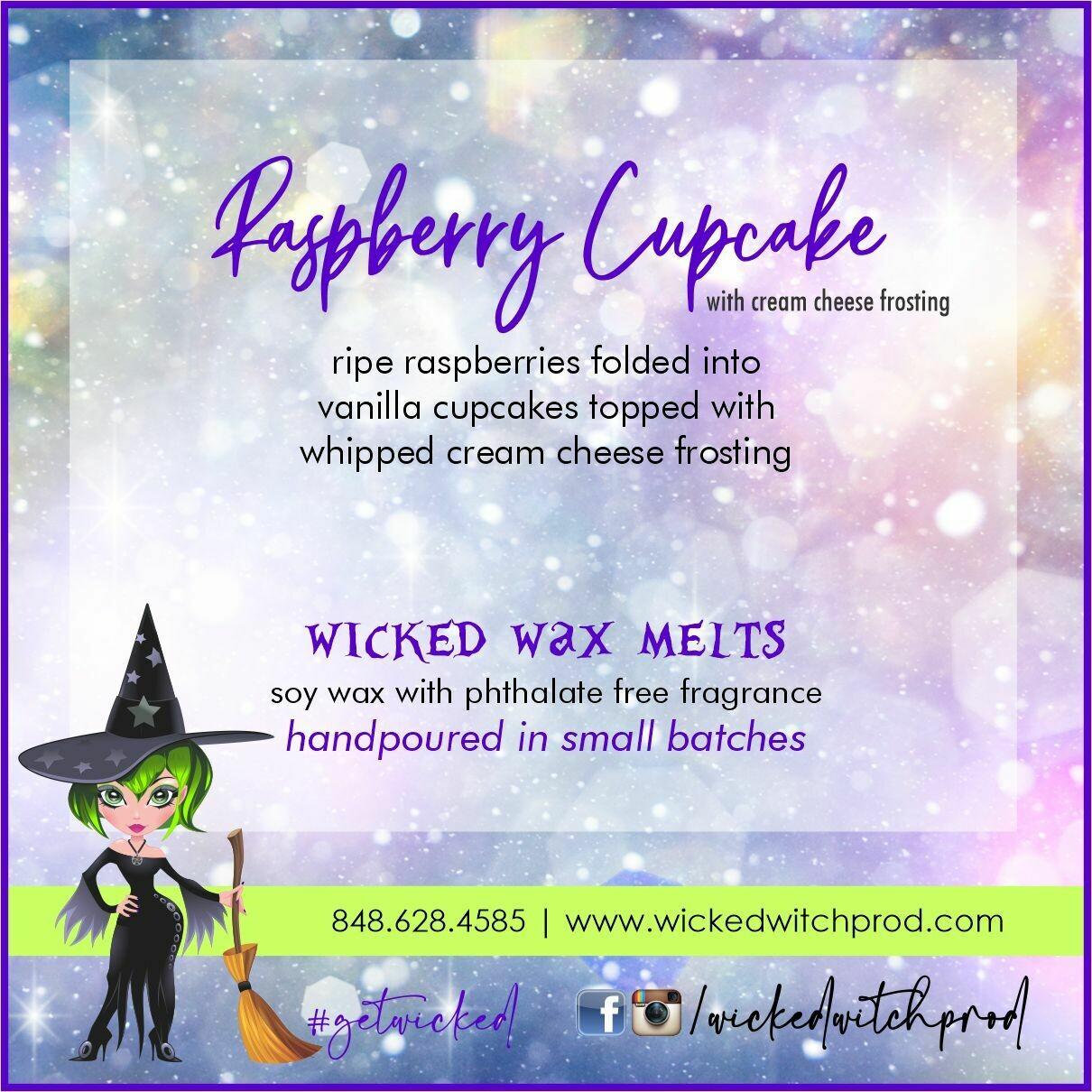 Raspberry Cupcake Wicked Wax Melts