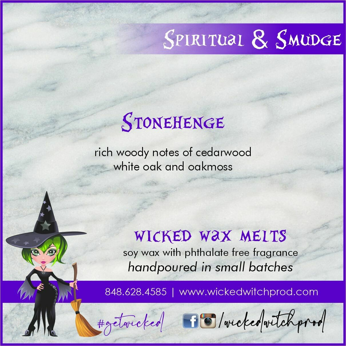 Stonehenge Wicked Wax Melts