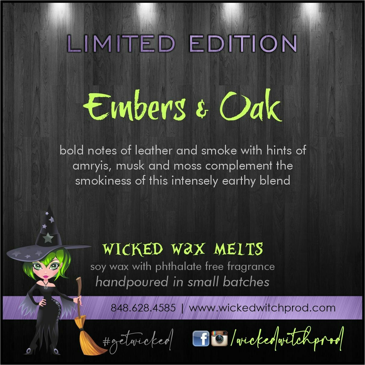 Embers & Oak Wicked Wax Melts