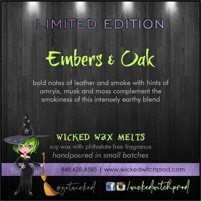Embers & Oak Wicked Wax Melts