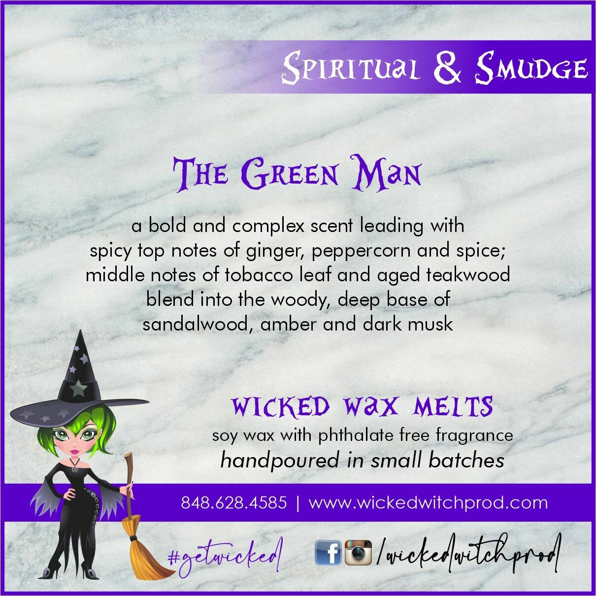 The Green Man Wicked Wax Melts