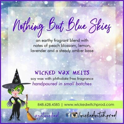 Nothing But Blue Skies Wicked Wax Melts