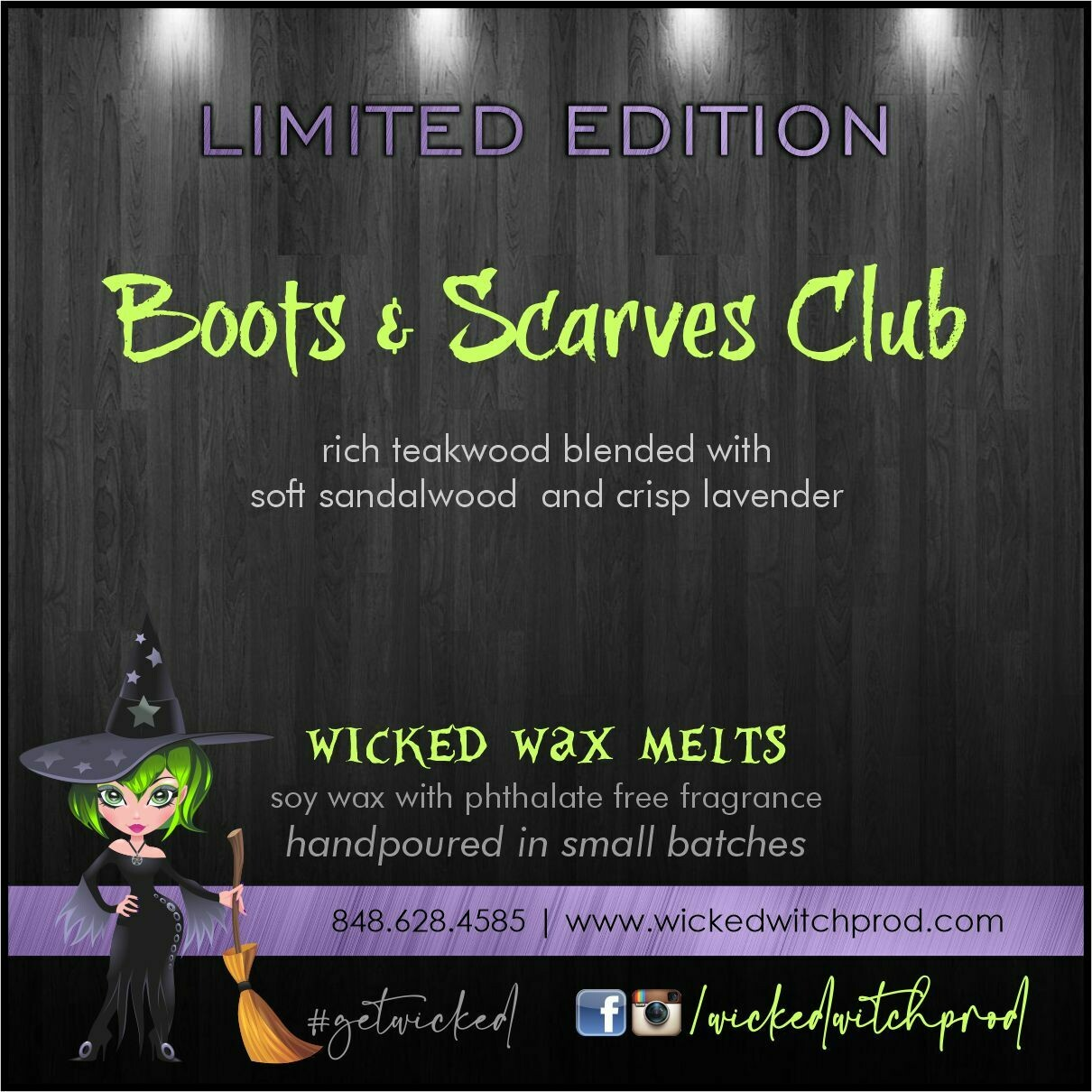 Boot & Scarves Club Wicked Wax Melts