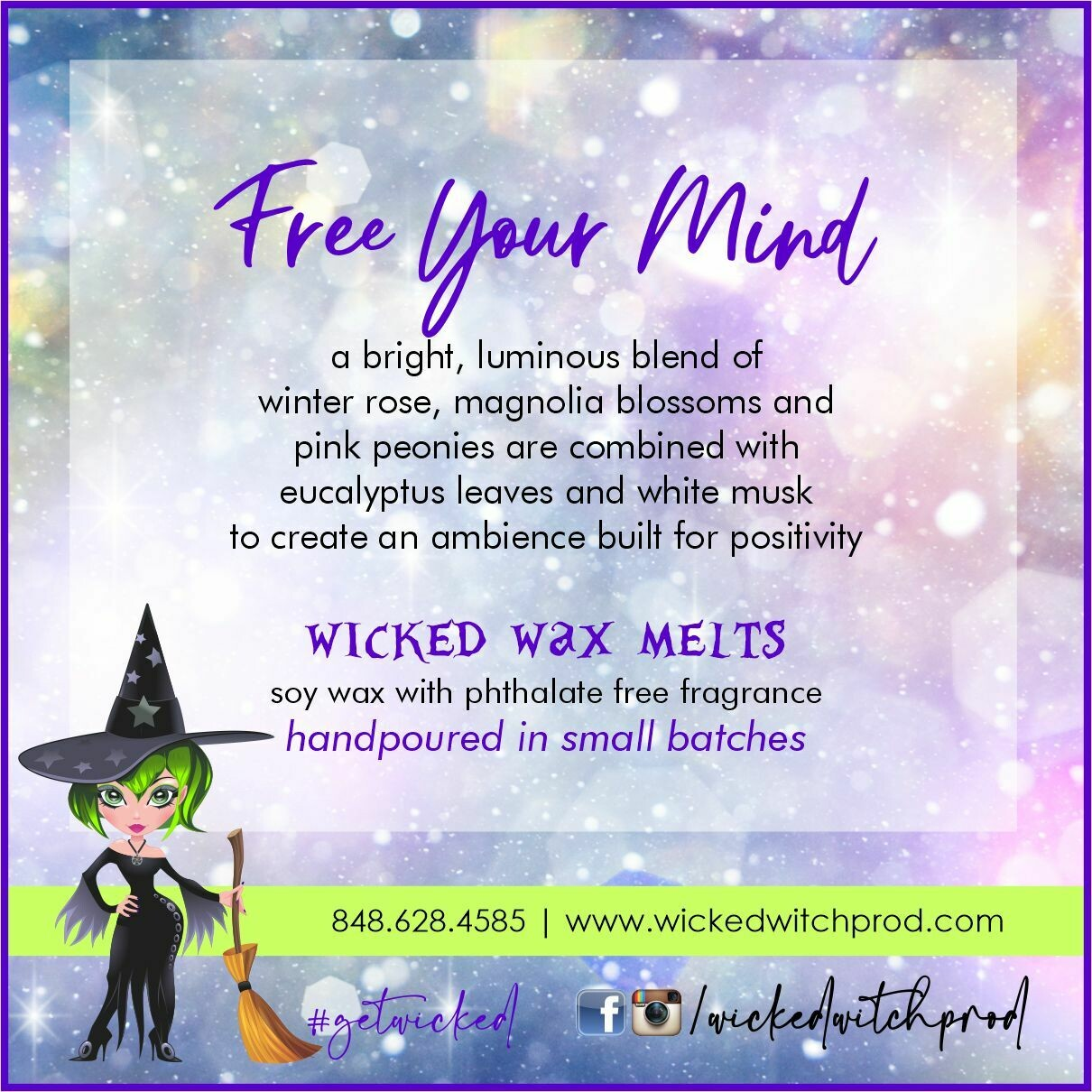 Free Your Mind Wicked Wax Melts
