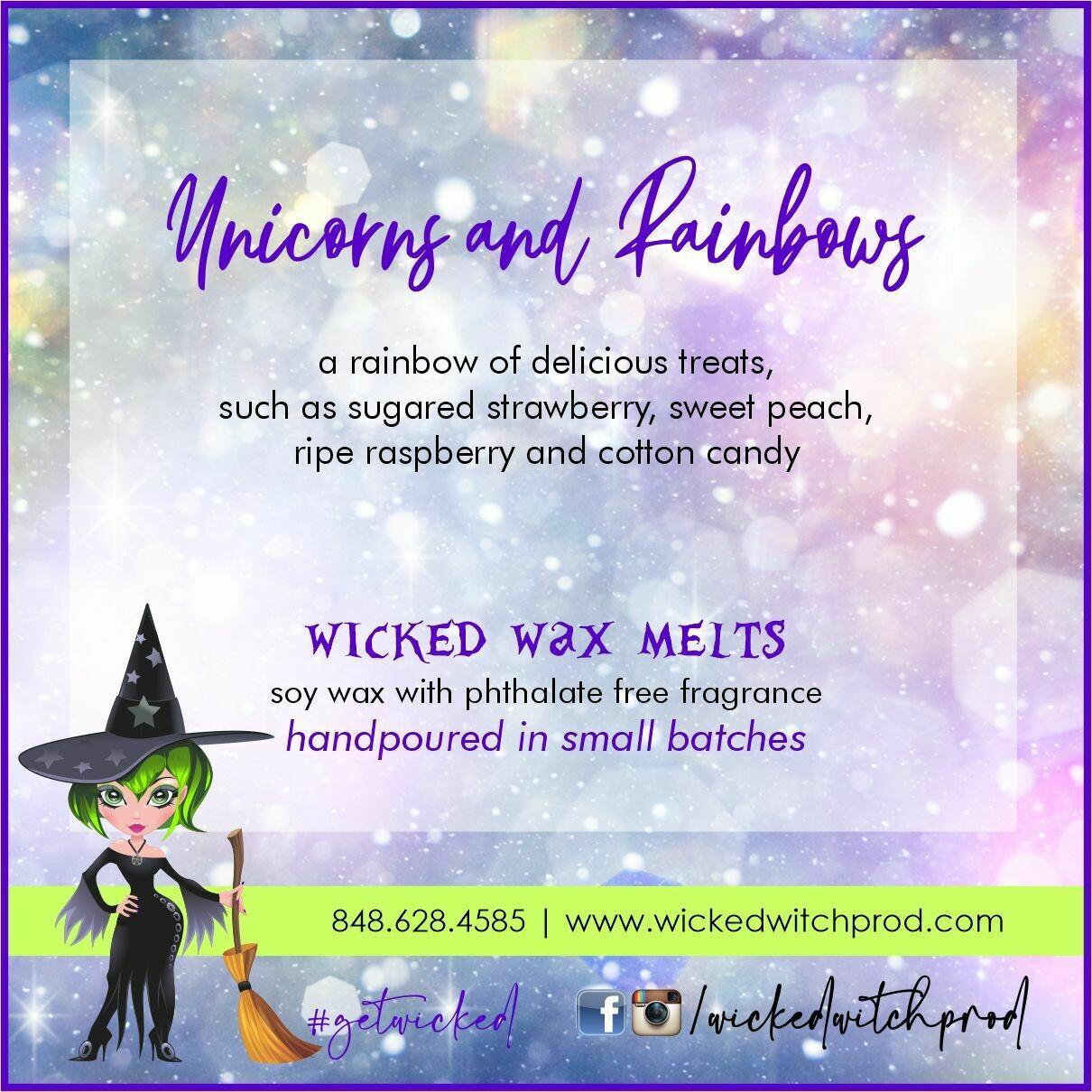 Unicorns & Rainbows Wicked Wax Melts