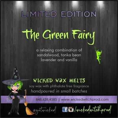 The Green Fairy Wicked Wax Melts