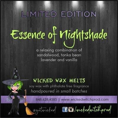Essence of Nightshade Wicked Wax Melts